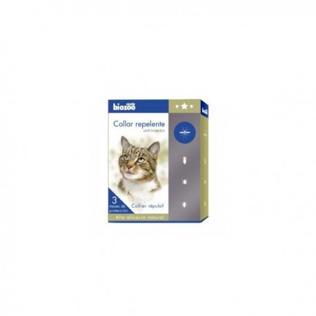 COLLIER ANTIPARASITAIRE POUR CHAT BIOZOO