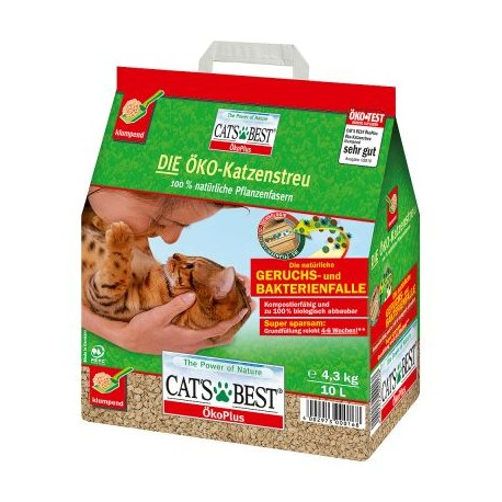 litiere chat compost